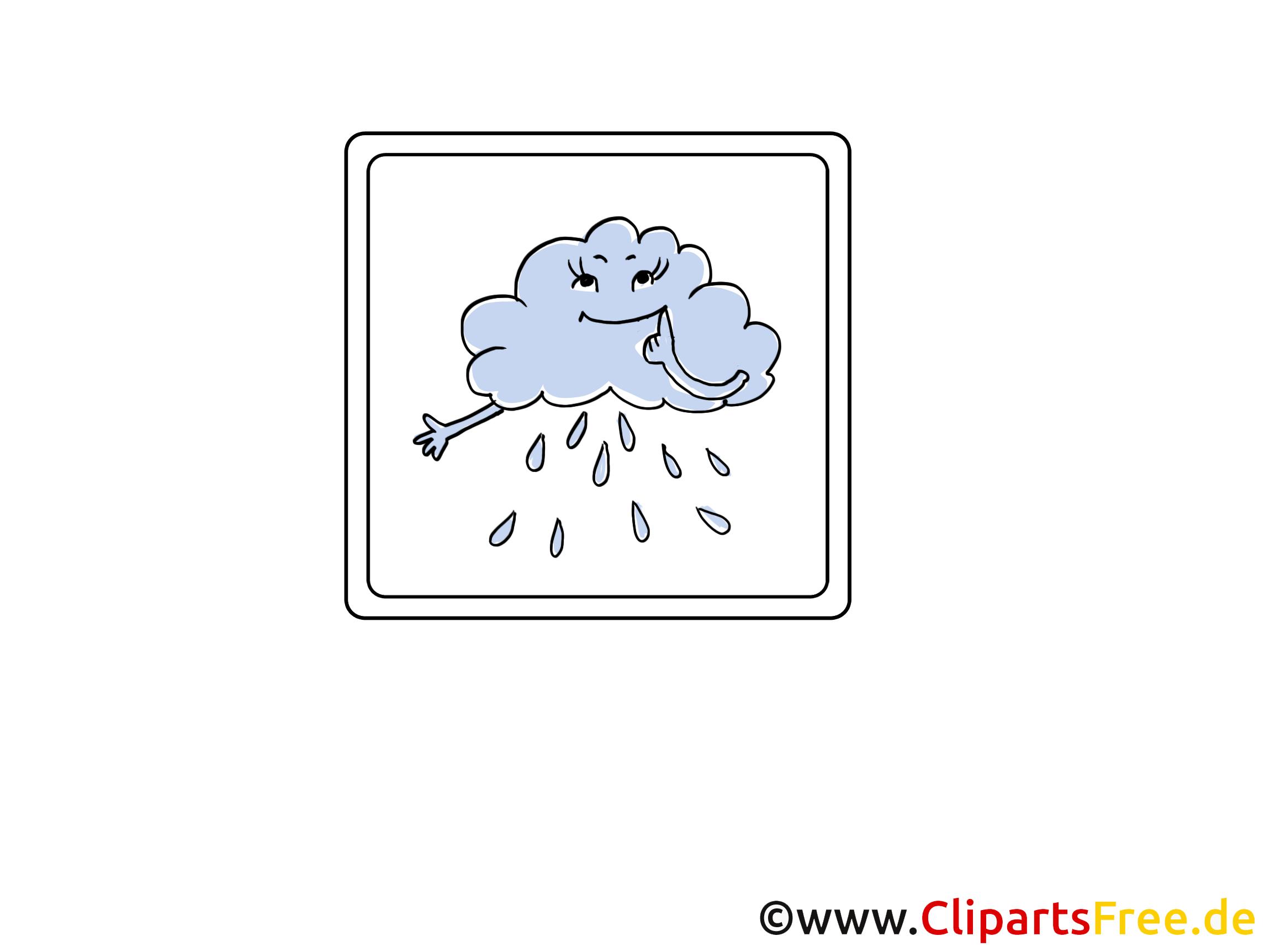 Regen, Wolke, Unwetter Icon, Bild, Clipart, Grafik.