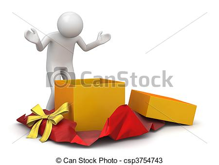 Unwrapping Illustrations and Clipart. 34 Unwrapping royalty free.