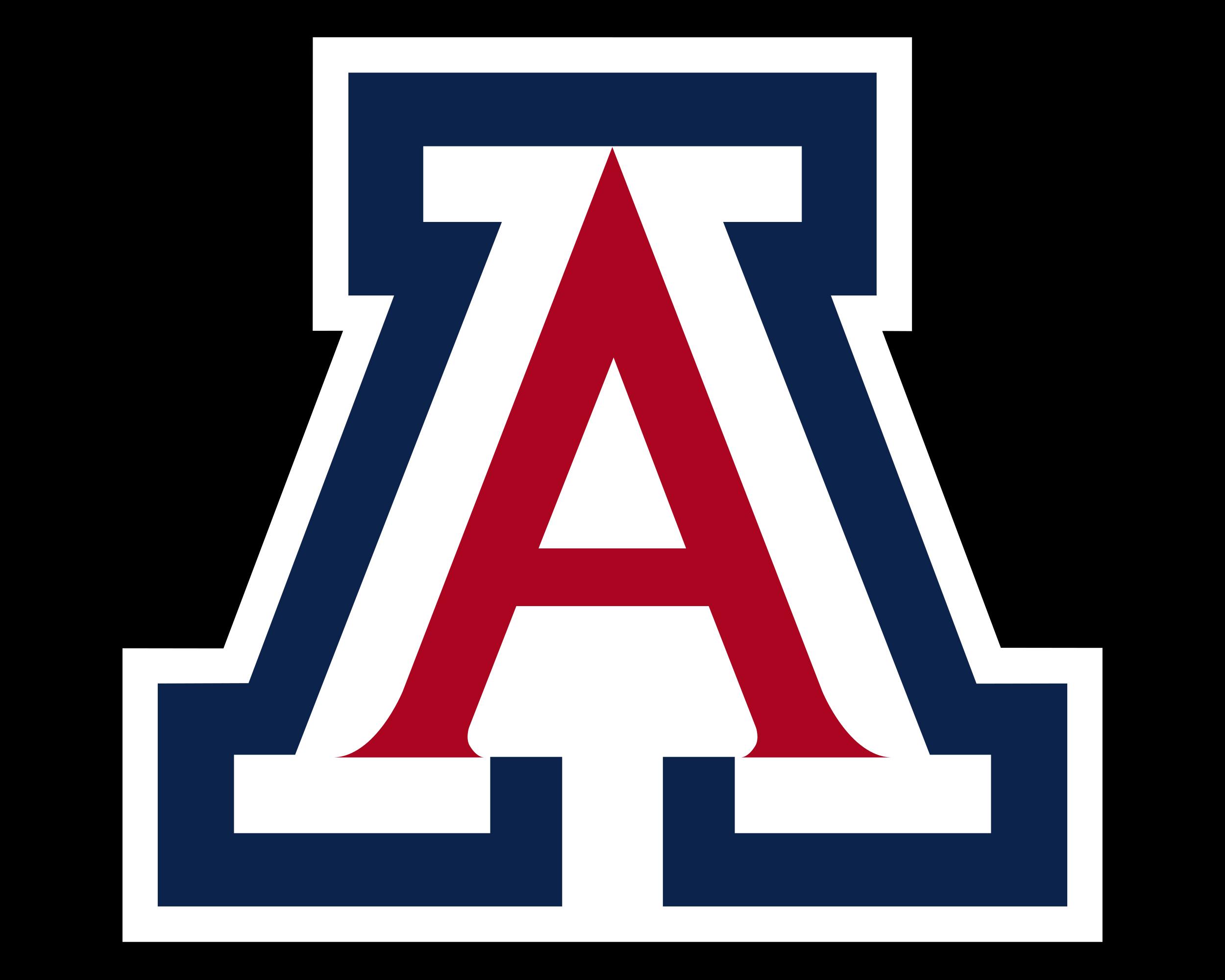 Meaning University of Arizona logo and symbol.