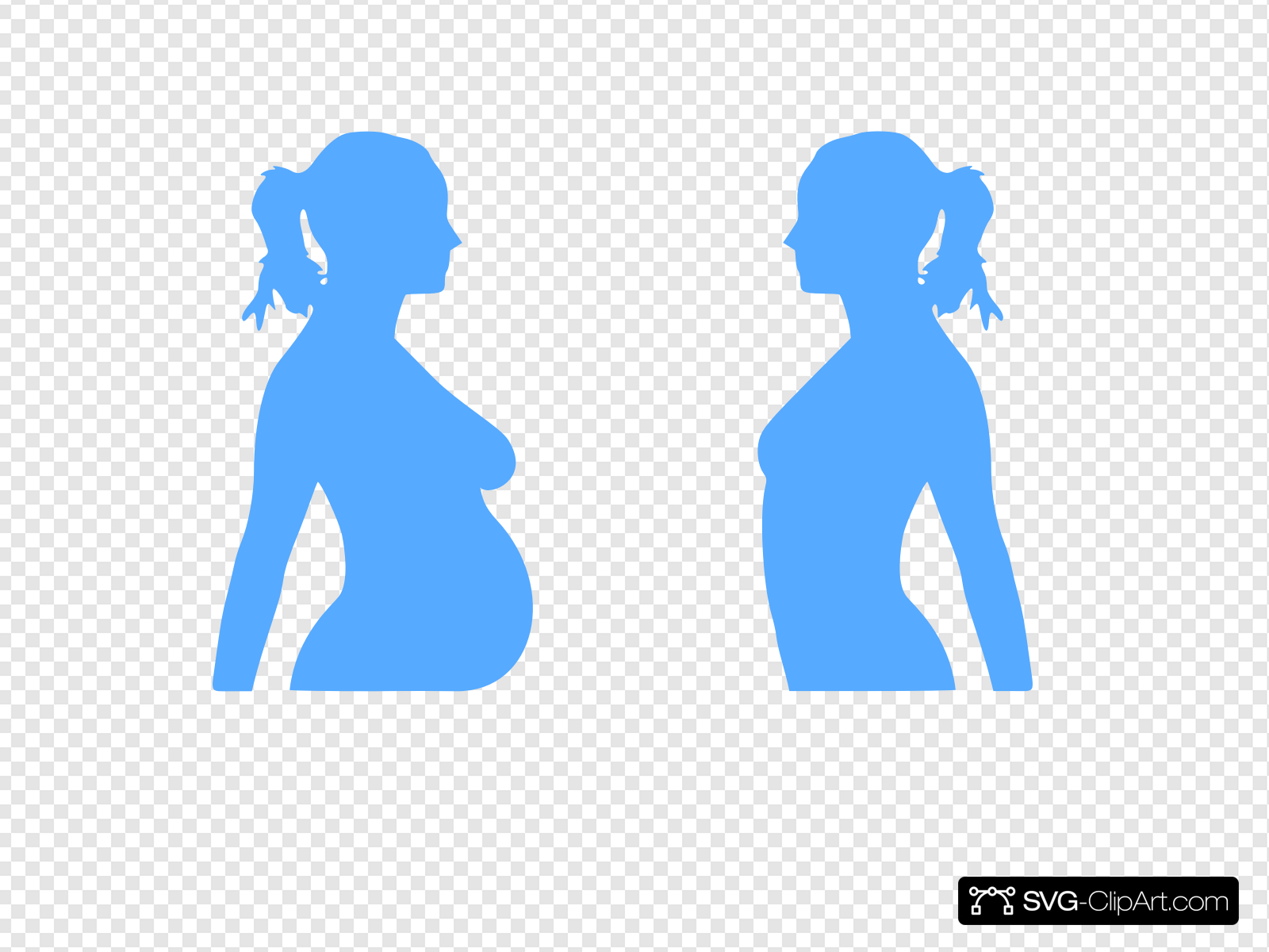 Pregnant Clip art, Icon and SVG.