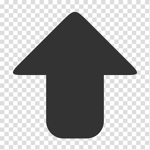 Computer Icons Arrow Scalable Graphics, Grey Up Arrow Icon.