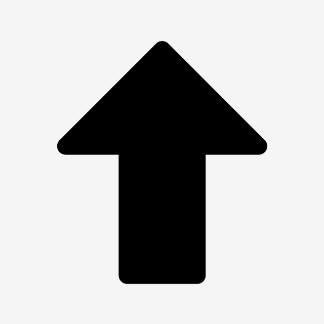 Vector Up Arrow Icon, Arrow, Up Arrow, Up Icon PNG and.