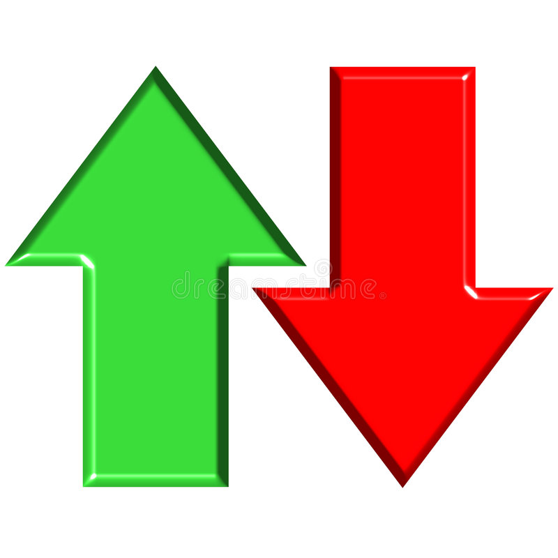 Up And Down Arrow Clipart.