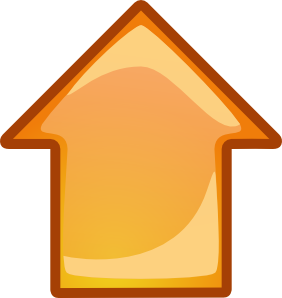 Arrow Orange Up Clip Art at Clker.com.