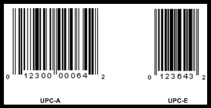 Appendix: UPC Barcode.