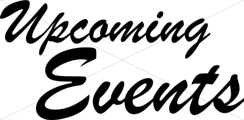 Upcoming Events Clipart.