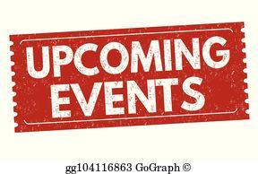 Upcoming Events Clip Art.