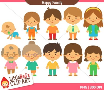 Family members clipart 2 » Clipart Station.
