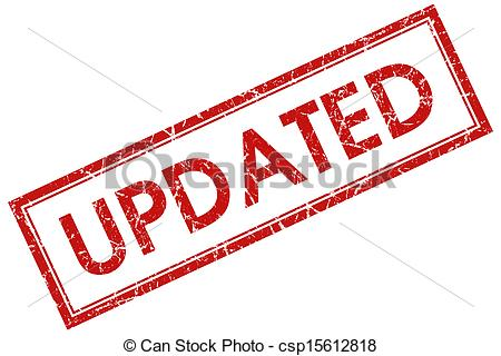 Clipart of updated red square stamp csp15612818.
