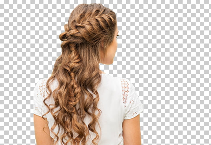 French braid Hairstyle Updo, hair PNG clipart.