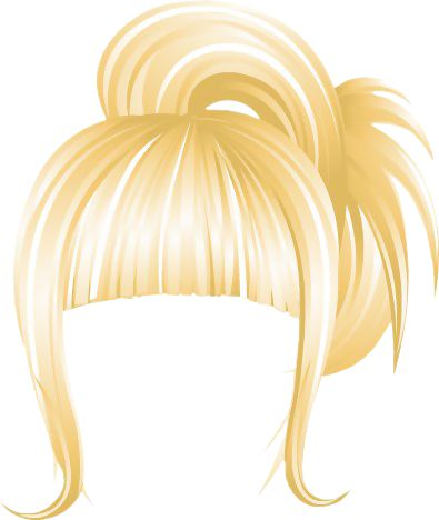 NYC Casual Updo Blonde.