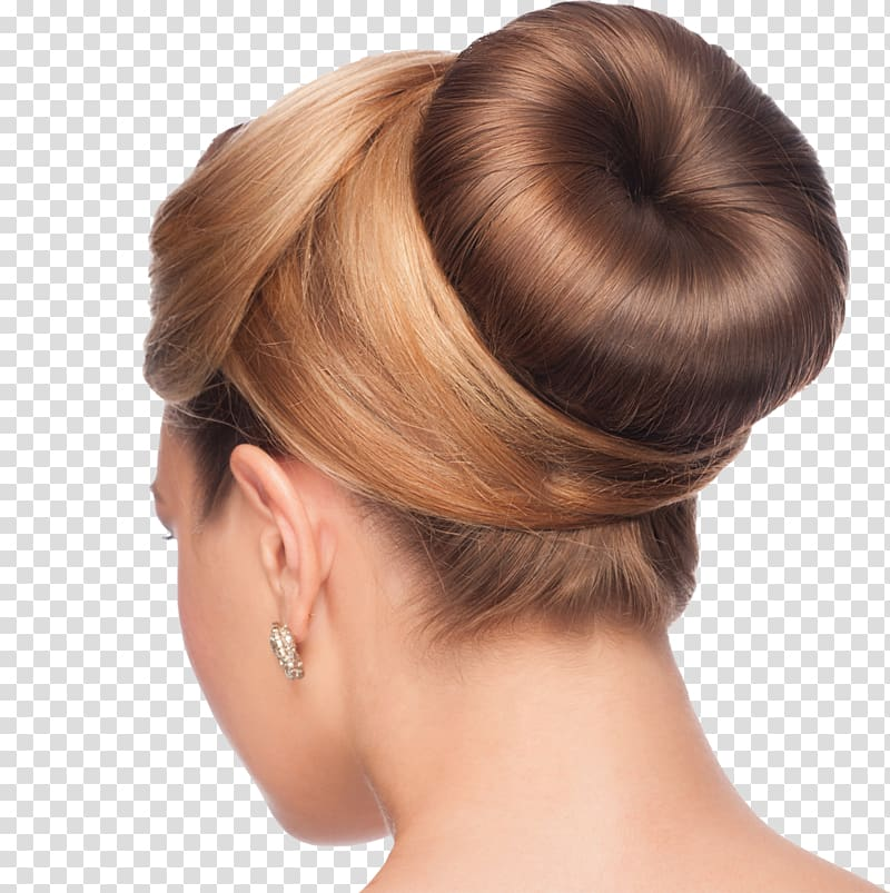 Bun Hair tie Hairstyle Updo French twist, pouring.