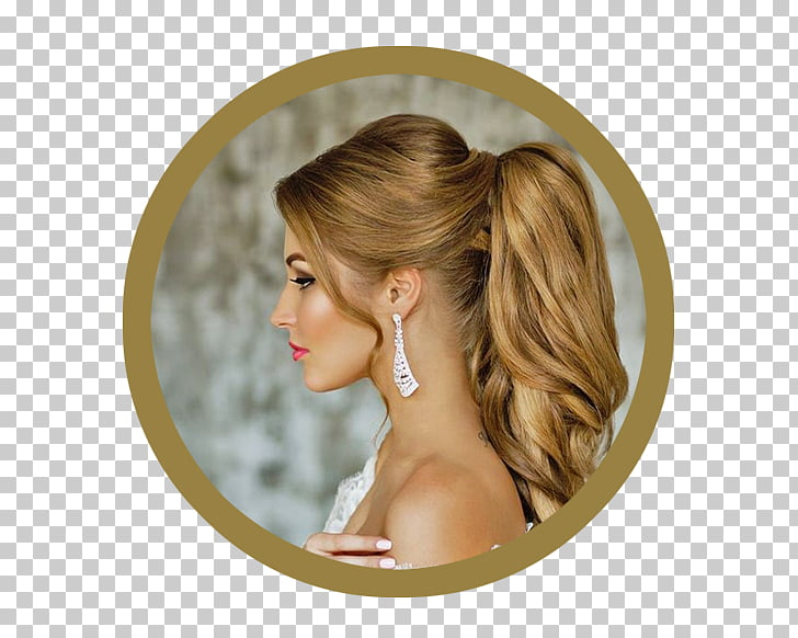 Ponytail Hairstyle Wedding Updo, hair PNG clipart.