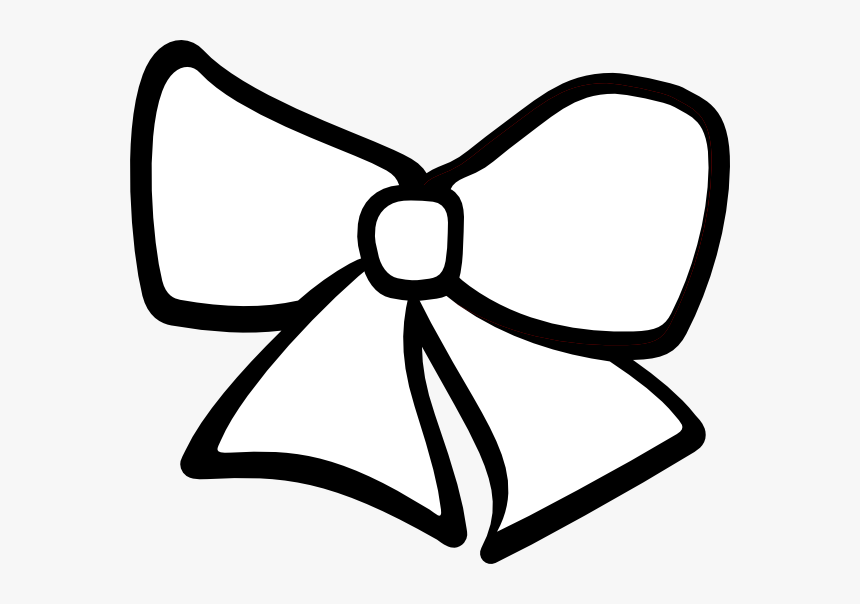 Hair Bow Svg Clip Arts.