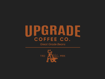 Upgrade Coffee Logo by studioaneukmuda on Dribbble.