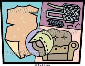 Design and Upholstery Clip Art.
