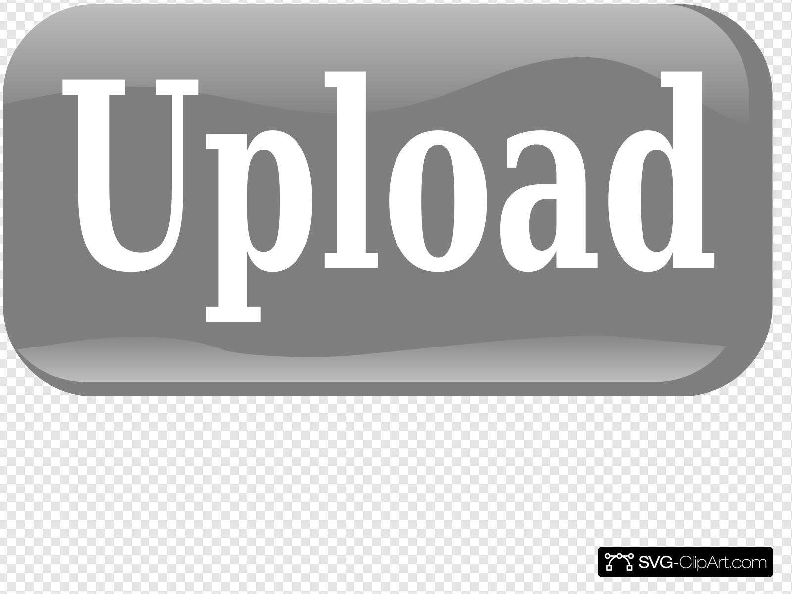 Upload Button Clip art, Icon and SVG.