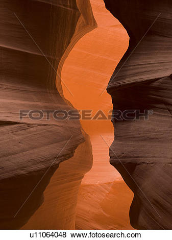 Pictures of Slot canyon, Tse Bighanilini, Upper Antelope Canyon.