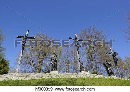 Stock Photograph of Germany, Bavaria, Upper Bavaria, Calvary hill.