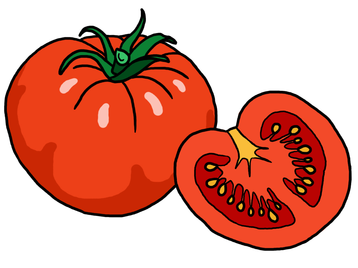 Clip Art: Radishes (coloring page).
