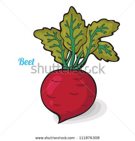 Fresh Vegetables Colorful Cartoon Easily Editable Stock Vector.