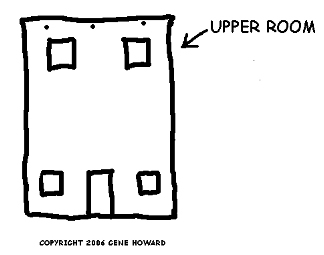 Upper room clipart.