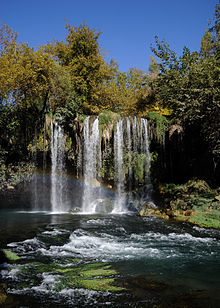 Düden Waterfalls.