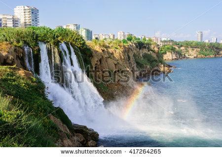 Waterfall Stock Photos, Royalty.