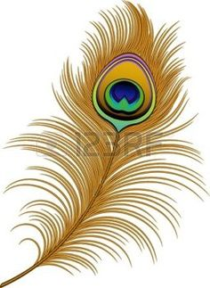 Peacock feather (Watercolor) Free vector in Adobe Illustrator ai.