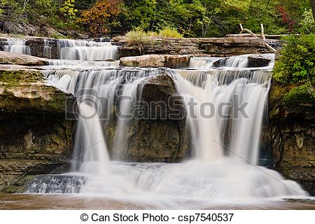 Picture of Upper Cataract Falls, Indiana.