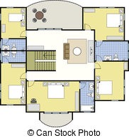 Ground floor Vector Clipart Royalty Free. 963 Ground floor clip.