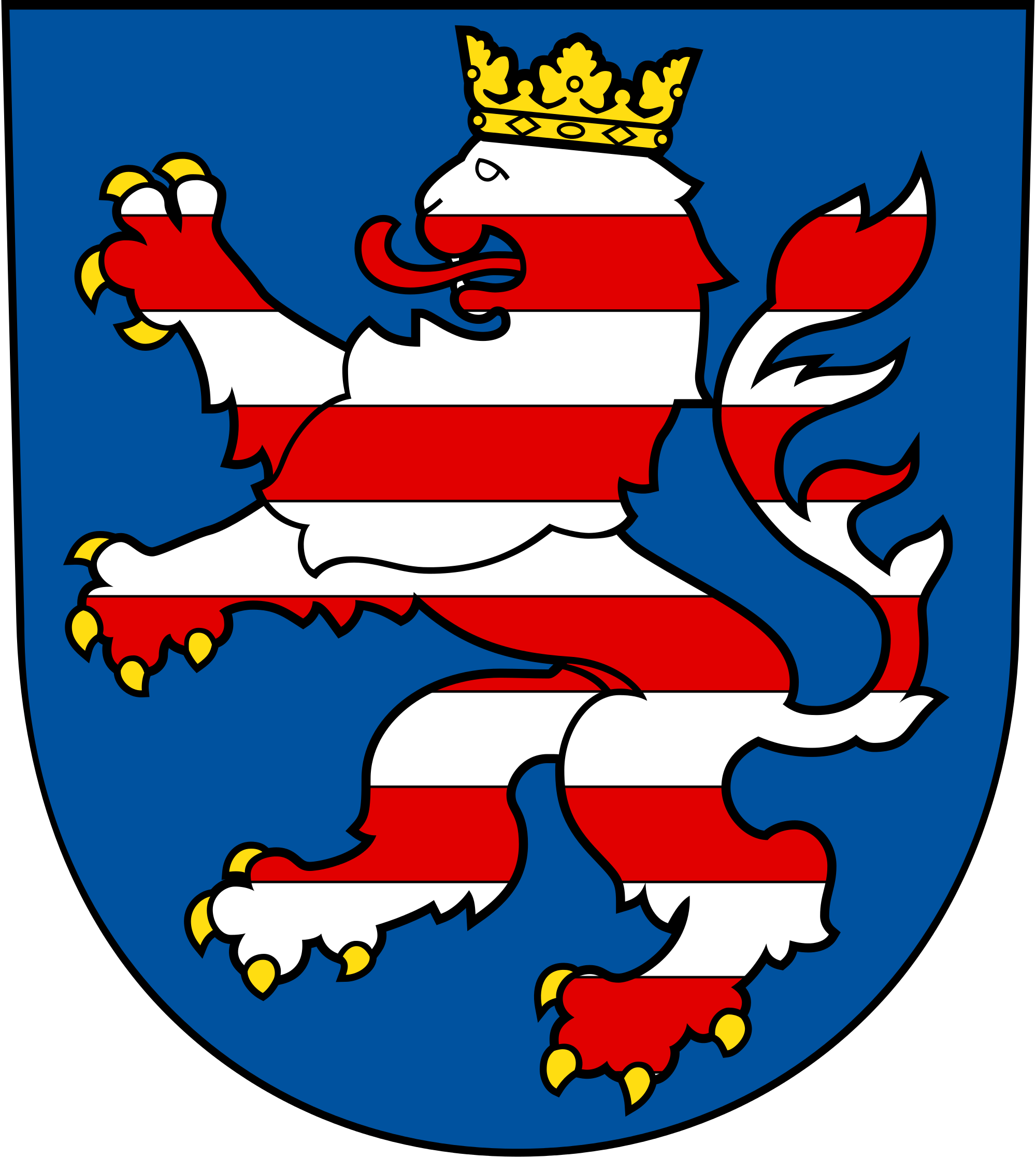 File:Coat of arms of Landgraviate Hesse.