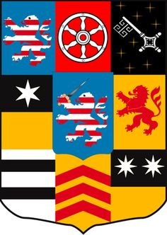 Family coat of arms of the Landgrave of Hesse of the tribe Brabant.