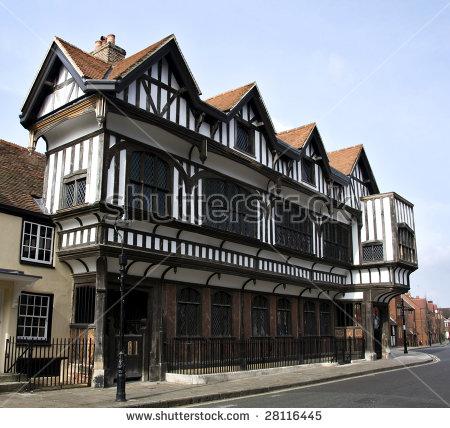 Tudor House Stock Photos, Royalty.
