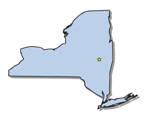 New York State Map Clipart Clipground