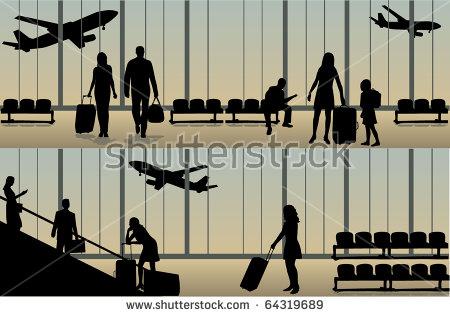 """luggage_on_an_escalator"" Stock Photos, Royalty."