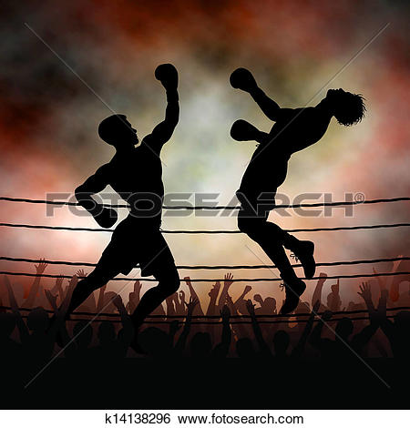 Clip Art of Uppercut k14138296.