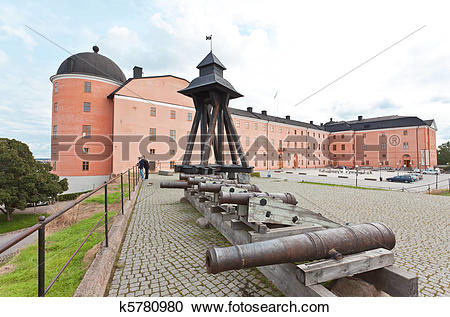 Stock Photography of The King Castle in Uppsala City k5780980.
