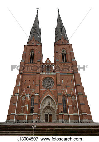 Picture of Uppsala Cathedral k13004507.