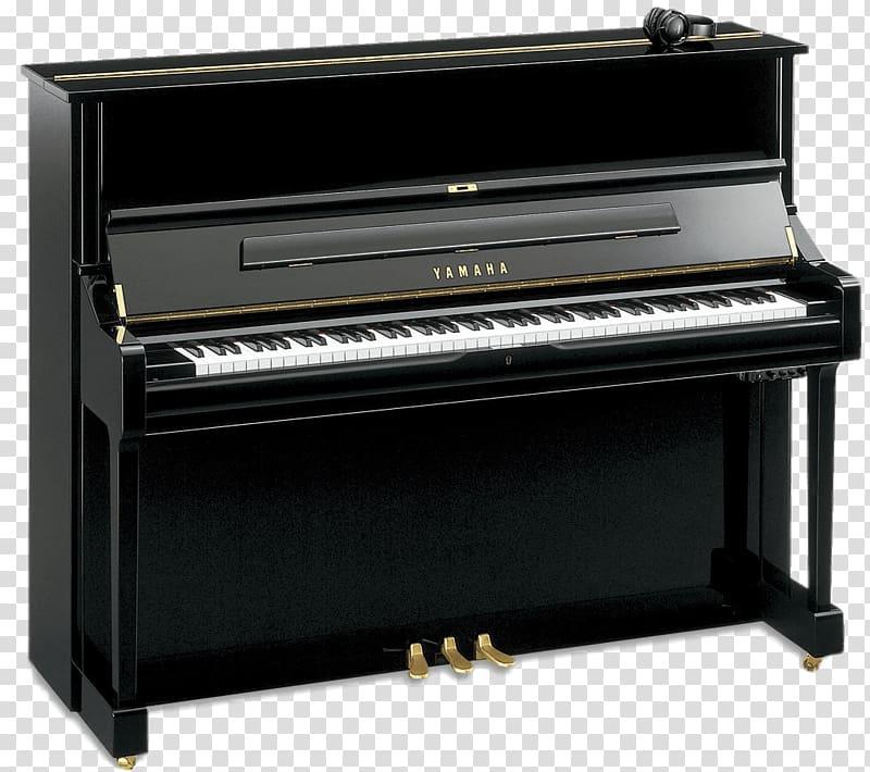 Black Yamaha upright, Yamaha U1 Silent Upright Piano.