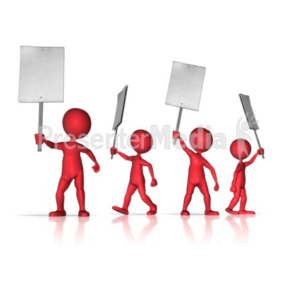 100 Protest Clipart.