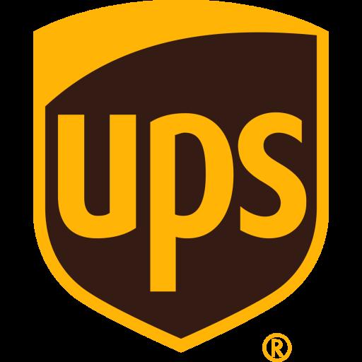 Ups Logo Icon of Flat style.