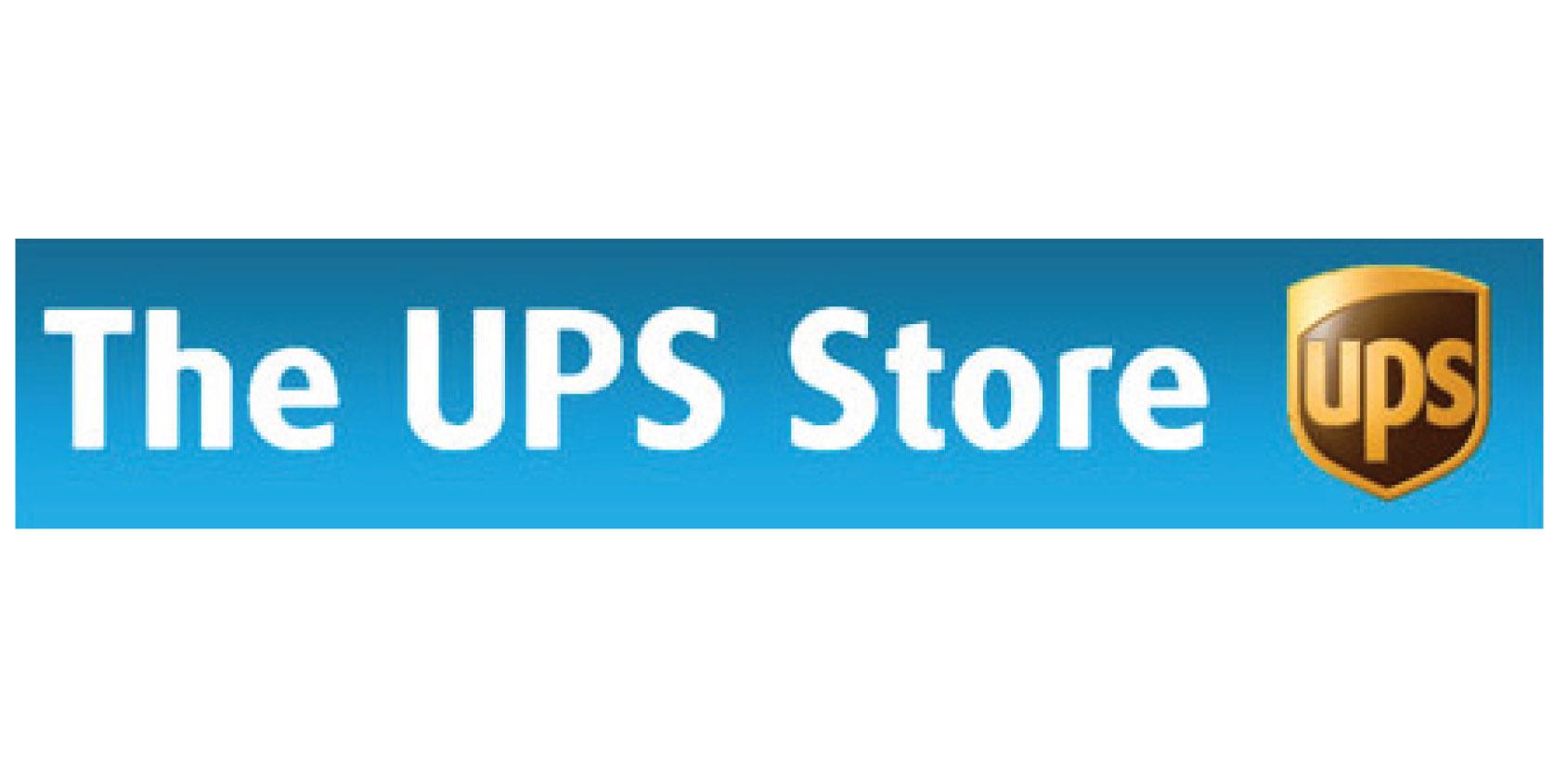 The ups store Logos.