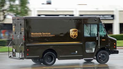 Ups Truck Png (69+ images).