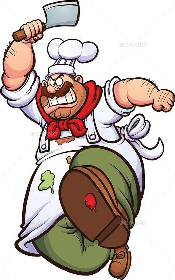 Angry Chef in 2019.