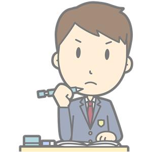 Grumpy Student (#4) clipart, cliparts of Grumpy Student (#4.