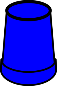 Blue Cup Clip Art at Clker.com.