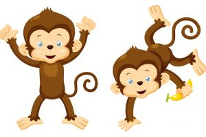 Upside down hanging monkey clipart 2 » Clipart Station.