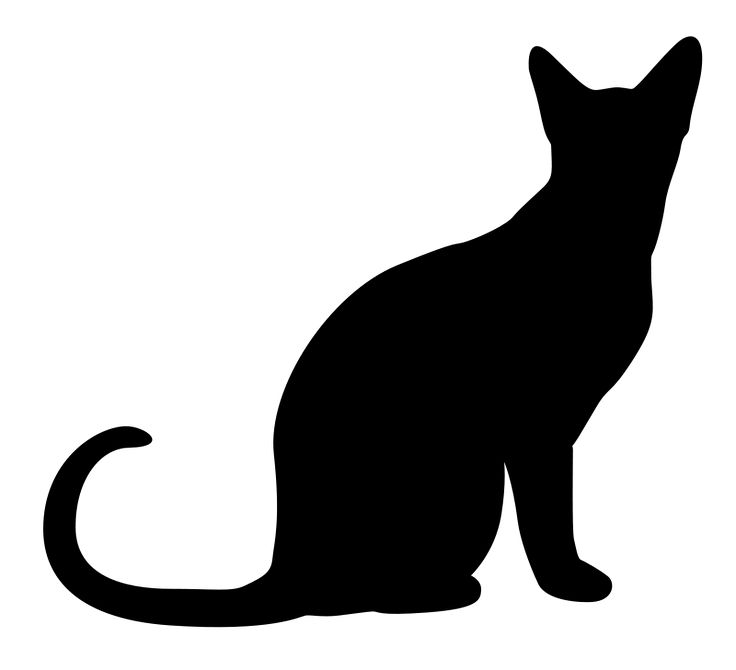 17 Best images about shadow cats/applique on Pinterest.