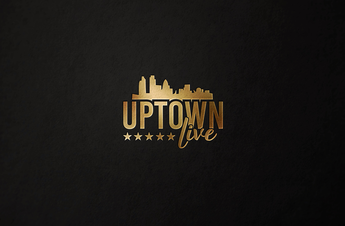 Logo Design for Uptown Live by GLDesigns.